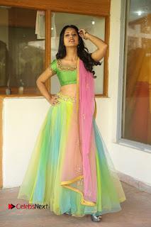 Actress Nikitha Bisht Stills in Lehenga Choli at Pochampally Ikat Art Mela Launch  0399.JPG