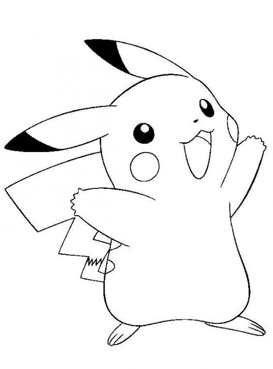 Tranh tô màu Pokemon 5