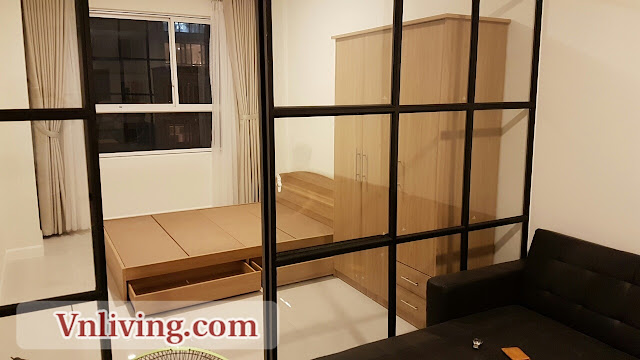 1 Bedrooms Lexington Residence An Phu Apartment for rent fully furnished