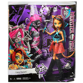 MH Fierce Rockers Catty Noir Doll