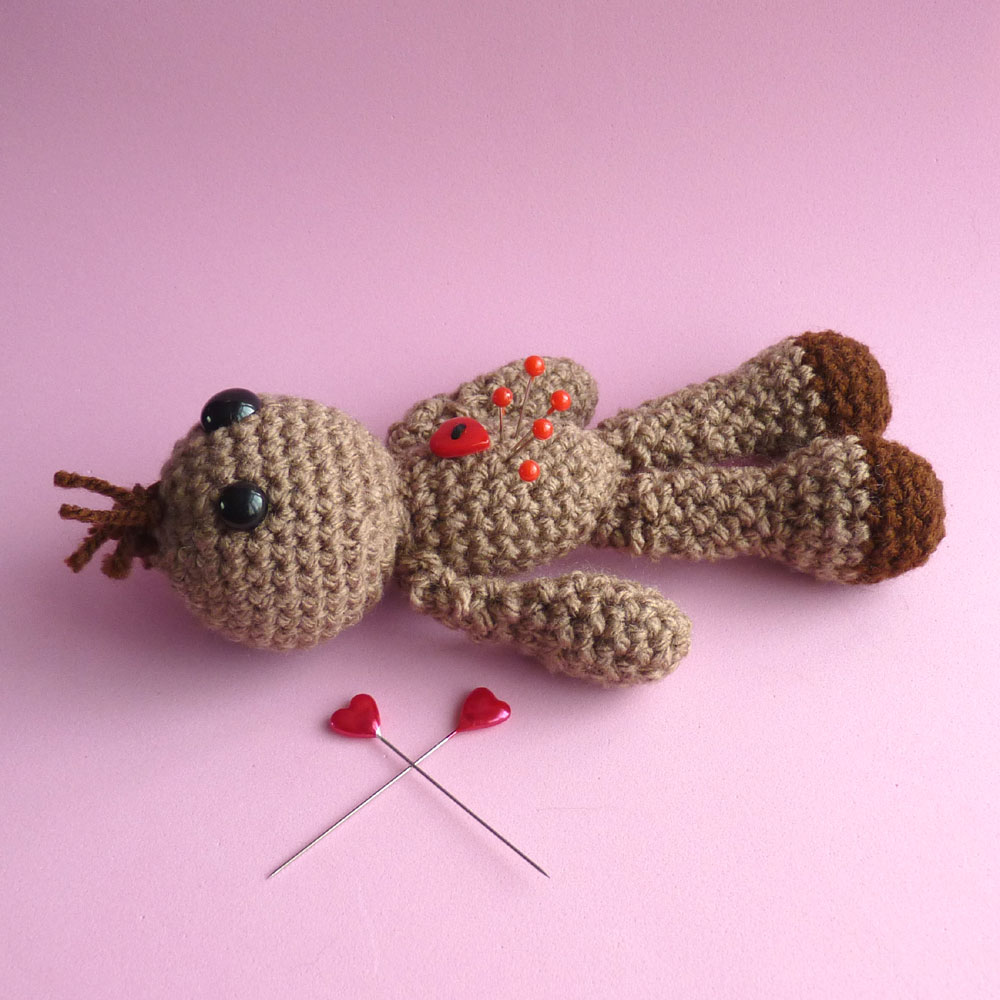 Amigurumi: Voodoo Doll (Pin Cushion) : 7 Steps (with Pictures ...   1000x1000