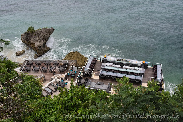 峇里, bali, Ayana resort rock bar, 岩石酒吧