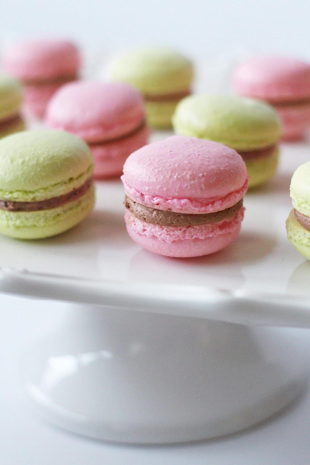 Worth Pinning: French Macarons with Nutella Buttercream ...