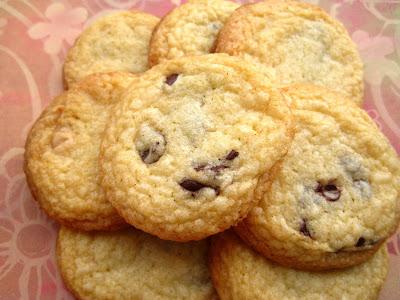 Recette de cookies aux pépites de chocolat laura todd