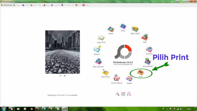 cetak foto ukuran formal dengan PhotoScape