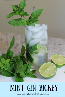Cool off with a Mint Gin Rickey