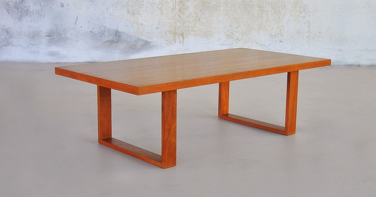 Select Modern Poul Cadovius Teak Coffee Or Cocktail Table