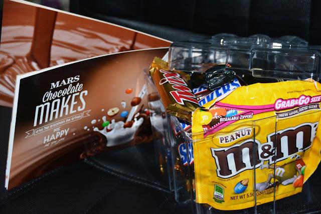 ממתקים של מרס Mars' chocolates