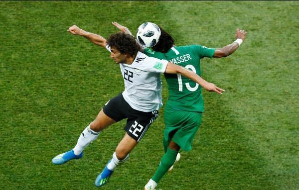 ملخص كامل مباراة السعودية ومصر 2-1 اليوم في كأس العالم 2018