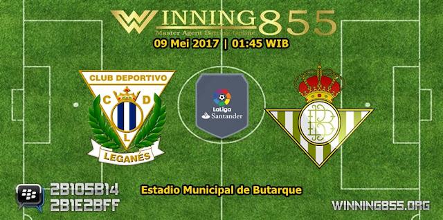 Prediksi Skor Leganes vs Real Betis 09 Mei 2017