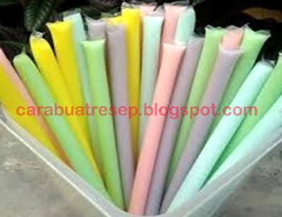 Foto Resep Es Pensil Pop Ice Susu Untuk Jualan Sederhana Spesial Asli Enak Aneka Warna Pelangi