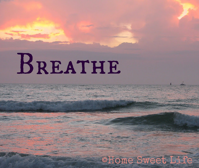Breathe, Five minute Friday writing prompts