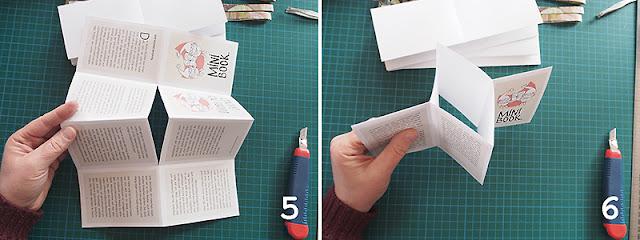Minibook basteln by frauschoenert
