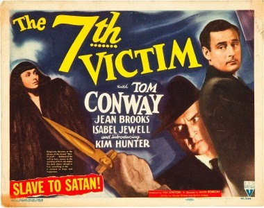 Image result for images of val lewton's 1944 the seventh victim