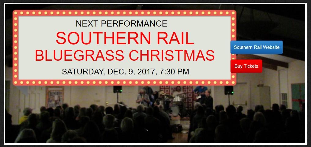 southern rail bluegrass christmas concert dec 9 - Bluegrass Christmas