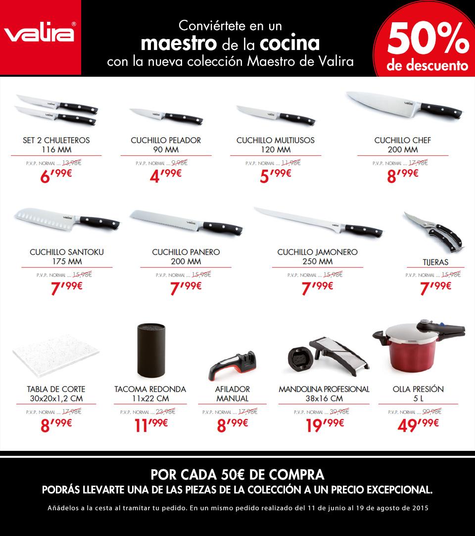 me gusta ahorrar  50% en la colección de VALIRA en Hipercor 3ab3c50f480f