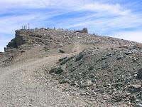 El Veleta y su carretera