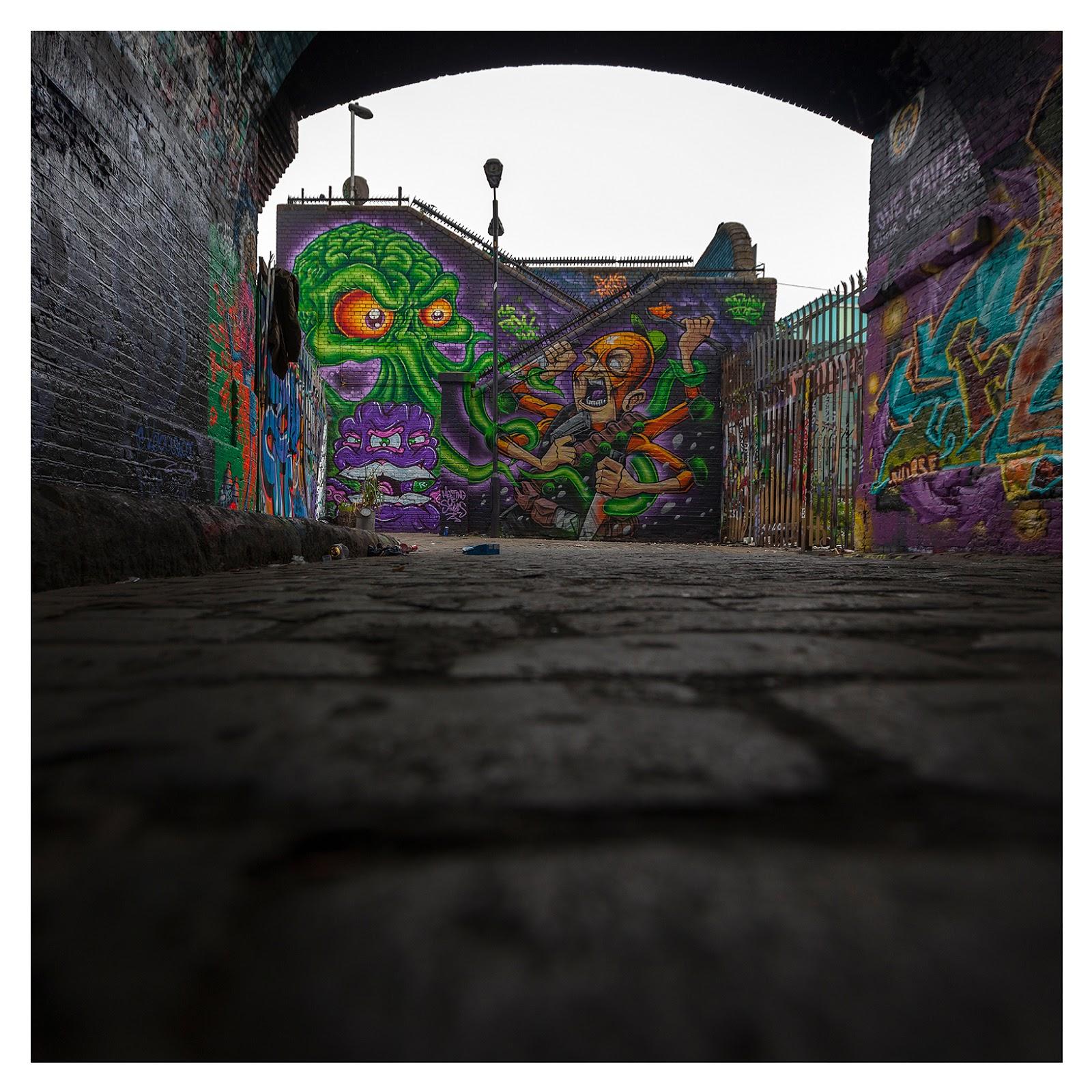 Captain Kris / The Real Dill + Dahkoh Brick Lane Street Art