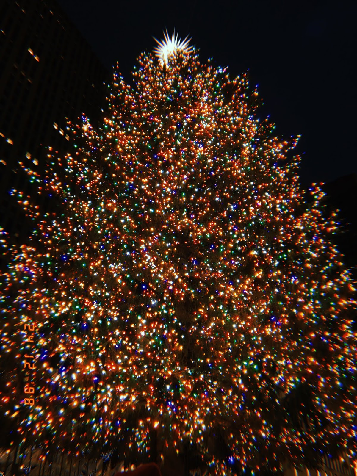 Spaziergang durch New York zur Weihnachtszeit