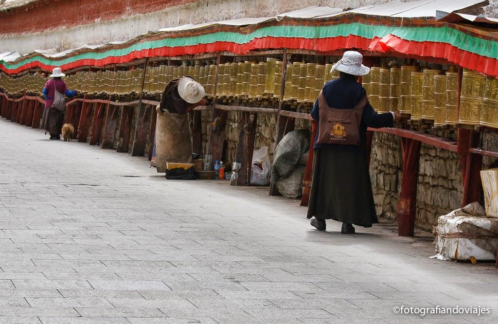 Kora lingkor en Lhasa Tibet
