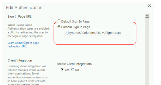 Customizing the SharePoint Sign-in Page For ExCM in SharePoint 2013 - Part 1