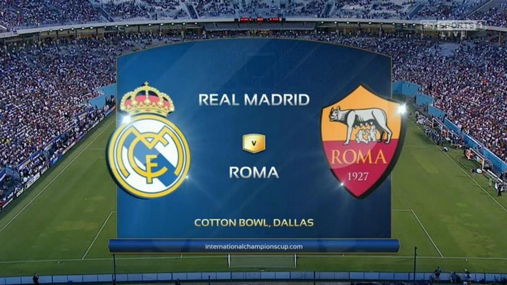 Horario y dónde ver: Real Madrid - Roma