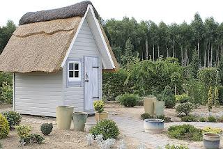 Petite maison avec jardin.