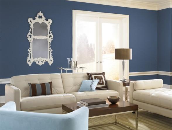 Interior painting popular home interior design sponge - House color schemes interior ...