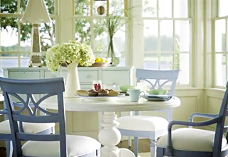 Painted Coastal Furniture. Loving This Soft, Painted Look In  Furnishings.......fresh, Cheerful Colors And Very Low Maintenance For  Relaxed Living!
