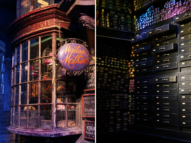 Explorez le Chemin de Traverse Warner Bros Studio Tour London
