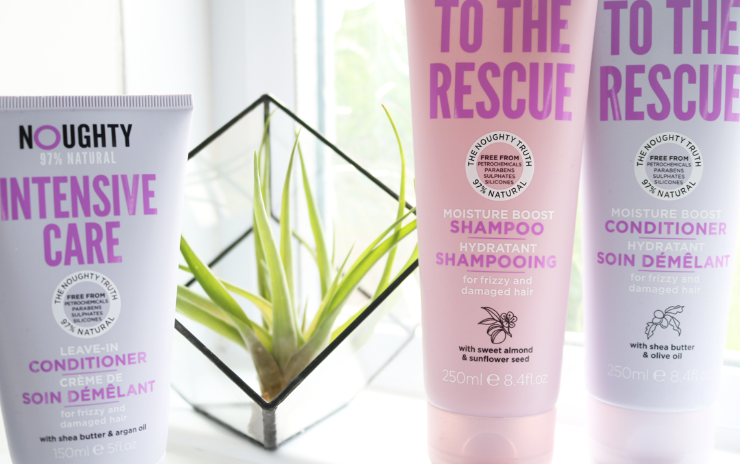 Noughty Haircare - To The Rescue Shampoo & Conditioner + Intensive Care Leave-in Conditioner review