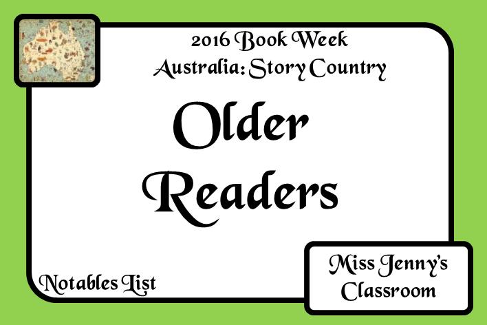 Book Week 2016: Older Readers