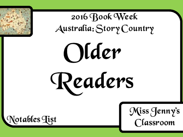 Book Week 2016: Older Readers