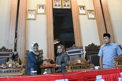 Paripurna DPRD Lampung Timur Bahas LKPJ Bupati TA 2018