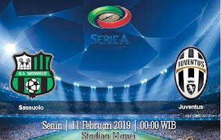 Prediksi Sassuolo vs Juventus 11 Februari 2019