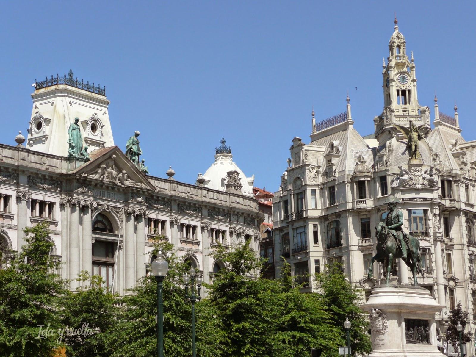 Edificios del centro de Oporto
