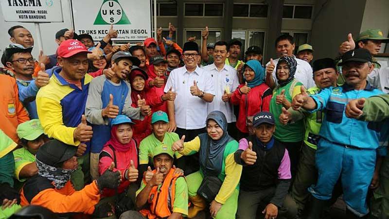 Oded Apresiasi Linmas, tim Gober, LPM dan Karang Taruna Bantu Wujudkan Bandung Jadi Lebih Baik