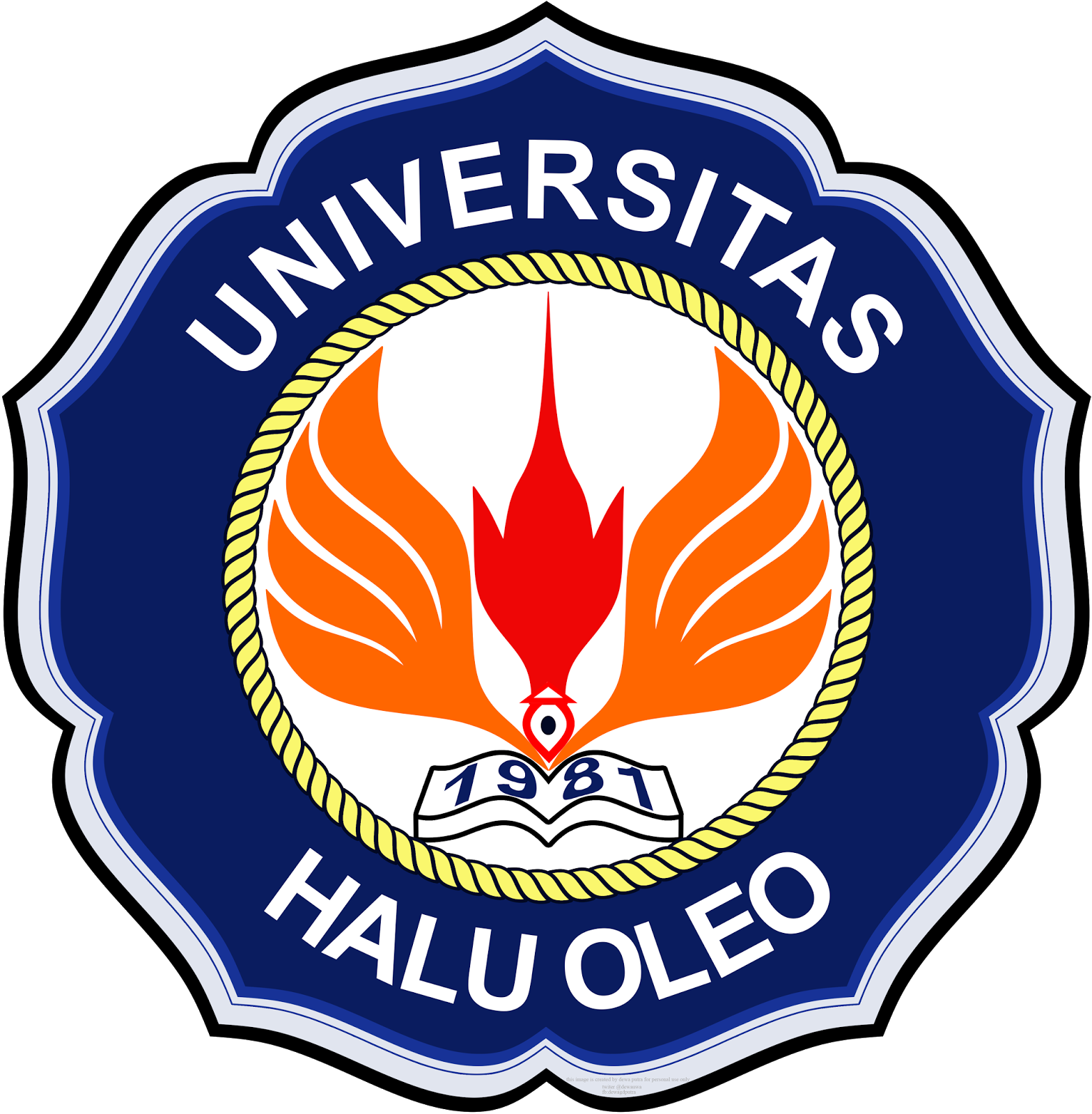 Ds S Library Logo Uho Universitas Halu Oleo Official