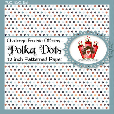 Challenge #69: Pick a Patterned Paper