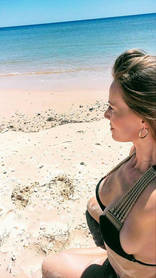Beautiful Lenka da Silva in Bikini at the Beach