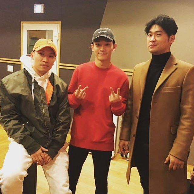 170123 choiza11 Instagram Update with Chen