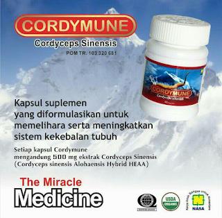 Cordymune Paket Pengobatan Stroke Nasa