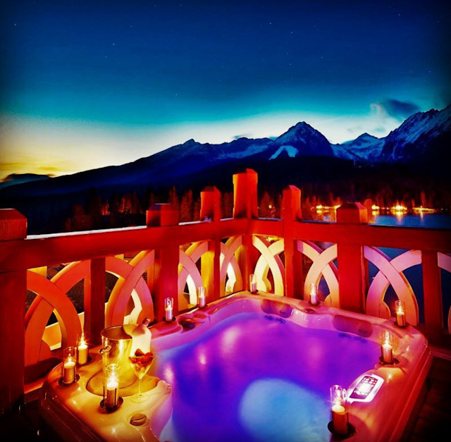 Wonderful place High Tatras Slovakia and luxury hotel services facilities #romance
