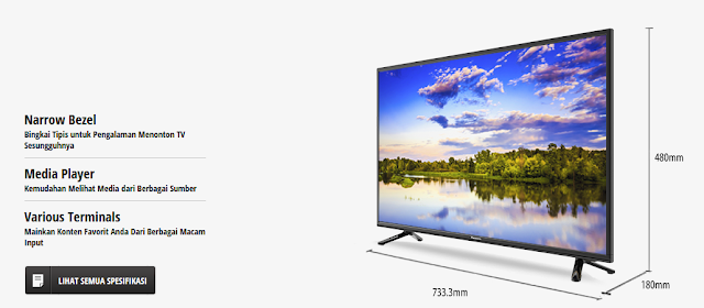 TV LED Panasonic Viera TH-32E302