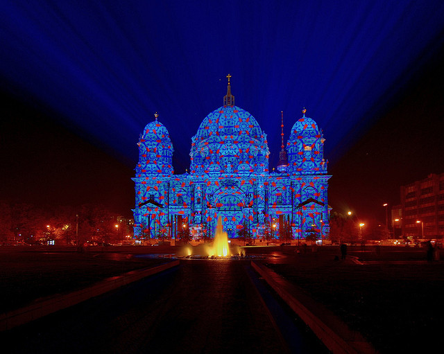 Berliner Dom Festival Lights Berlino