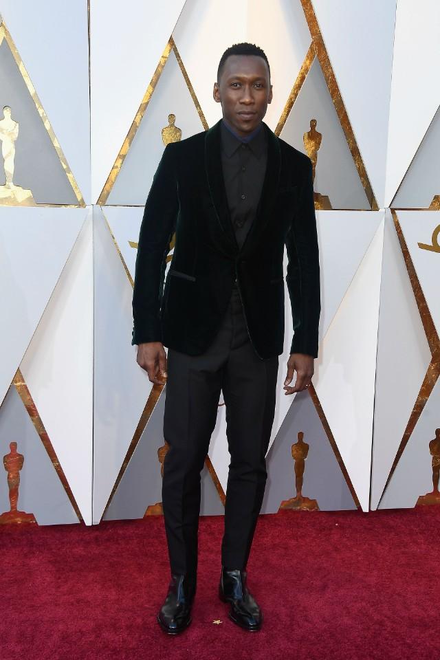Mahershala Ali Oscars 2018