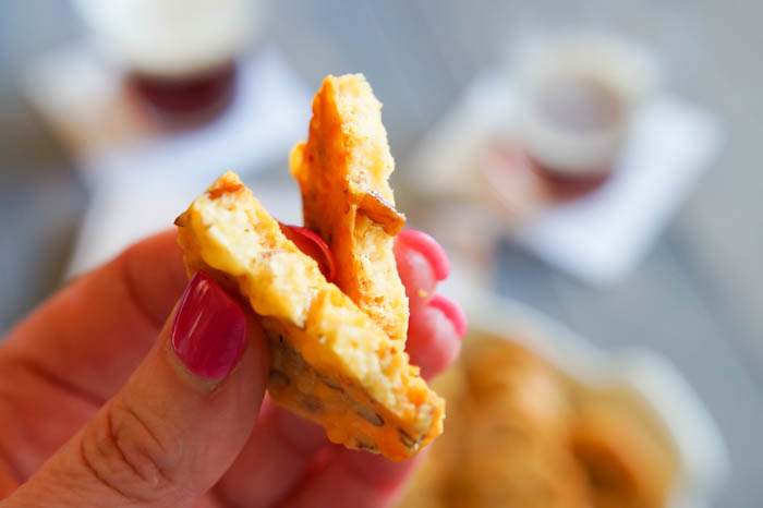 Southern Cheese Crackers recipe + Add a Pinch Cookbook