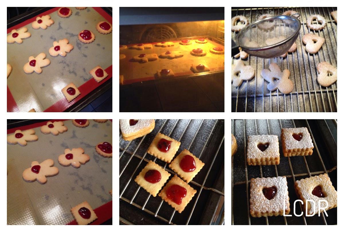 Receta de galletas linzer 06