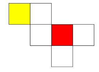 gambar jaring jaring kubus 8
