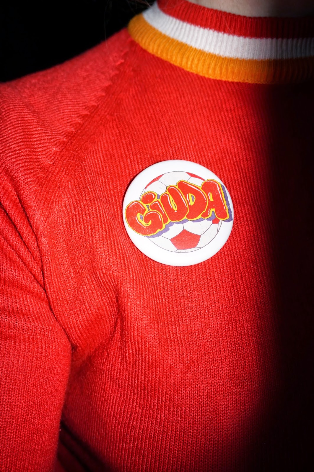 giuda horde badge pin pinback button i m a giuda fan giuda we love you let s do it again racey roller wild tiger woman